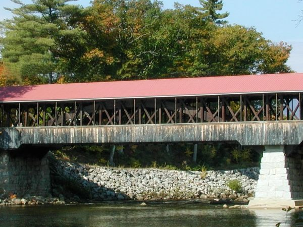 new hampshire, covered bridge, fall foliage, loon mountain events, thing to do near mountain club on loon, autumn, fall