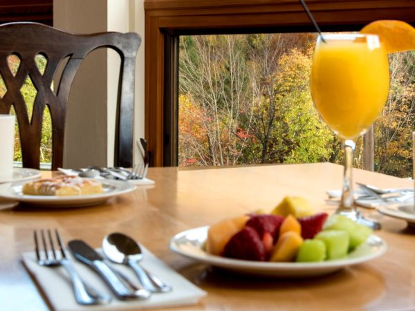rise and shine, breakfast in bed, family packages, mountain club on loon
